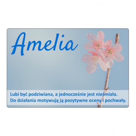 Aimant pour réfrigérateur - Amelia