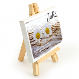 Picture on an easel - Julia
