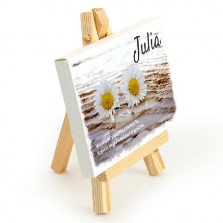 Bild auf einer Staffelei - Julia