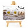Photo sur un chevalet - Julia