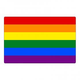 Magnes na lodówkę flaga LGBT tęcza