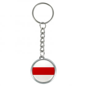 Brelok flaga Wolna Białoruś