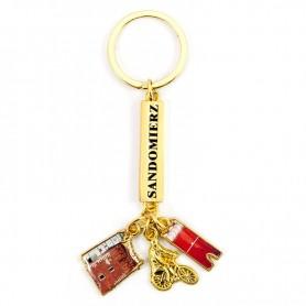 Keychain pendants Sandomierz