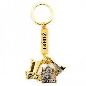 Lodz pendant keychain