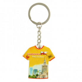 Keychain T-shirt Warsaw Palace of Culture