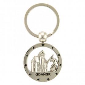 Porte-clés rond Gdańsk