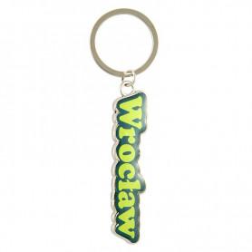 Porte-clés coloré avec le mot Wroclaw