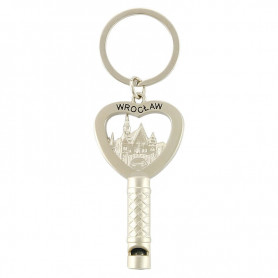Wroclaw whistle keyring