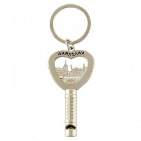 Whistle keychain Warsaw