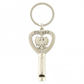 Poland whistle keychain