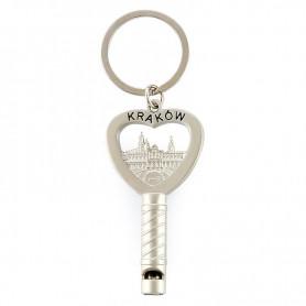 Porte-clés sifflet Cracovie