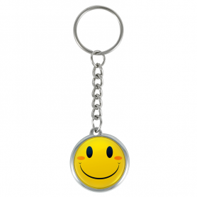 Glimlach sleutelhanger