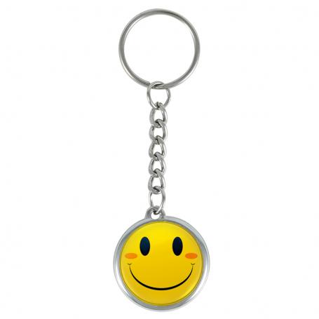 Smile keychain
