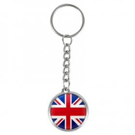 Sleutelhanger met de vlag van Groot-Brittannië