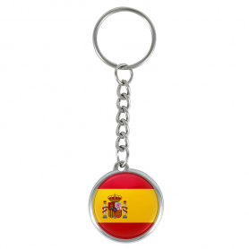 Spaniens flaggnyckelring