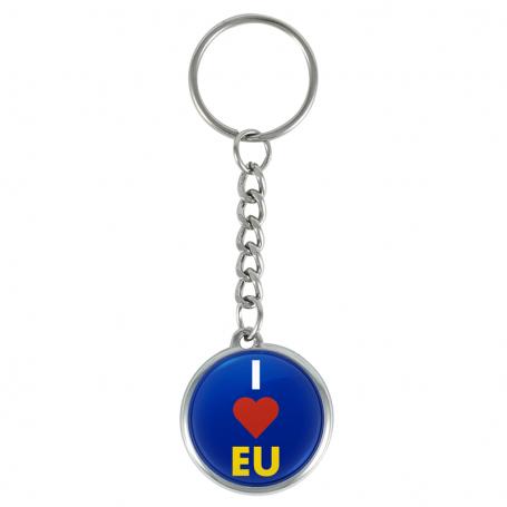 I ❤️ EU key ring