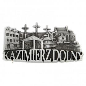 Fridge magnet panorama Kazimierz Dolny