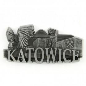 Fridge magnet panorama Katowice