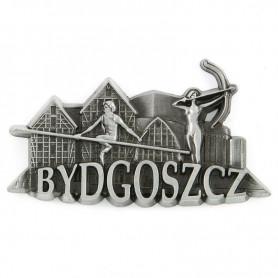 Fridge magnet panorama Bydgoszcz