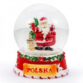 Snow globe Santa Claus 65 mm
