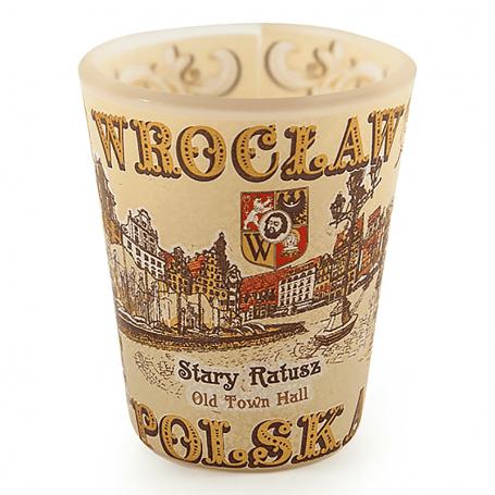 Kieliszek frost Wrocław sepia