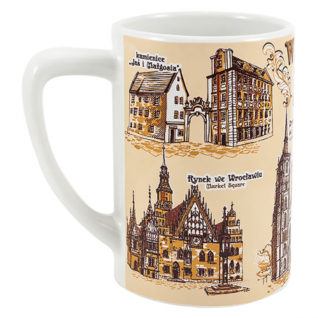 Eine schmale Tasse Wroclaw