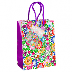 Декоративная сумка с народным мотивом - Ополе