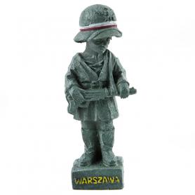 Statuette des Warschauer Aufständischen