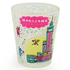 Kieliszek Warschau Kulturpalast