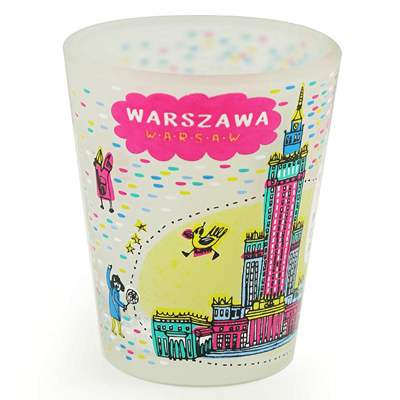 Kieliszek Palais de la culture de Varsovie