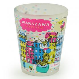 Kieliszek Warszawa Plac Zamkowy
