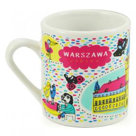 Kleine Tasse Warschauer Königsschloss