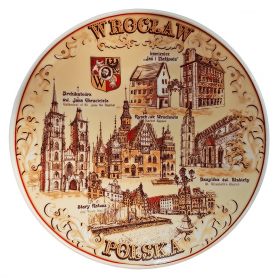 Memorial plate Wroclaw