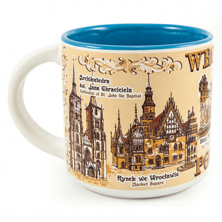 Mug Wroclaw sépia