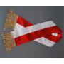 Cinta blanca y roja para la pancarta PZŁ