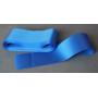 Wstążka atłasowa jednostronna, niebieska 10 cm