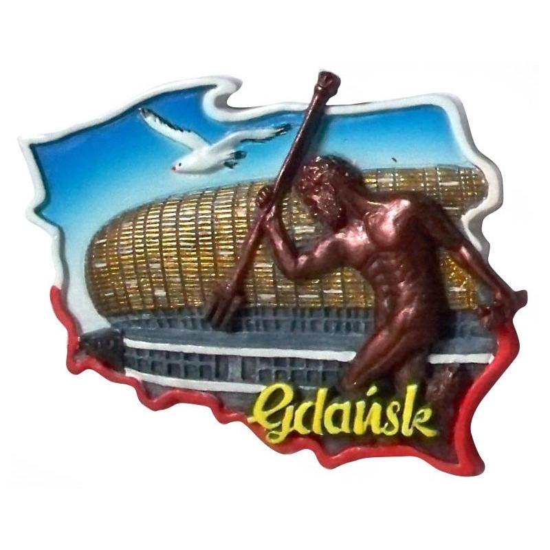 Magnes kontur Polska Gdańsk stadion